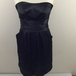 David's Bridal Black Dress